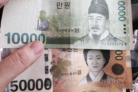 1亿、2亿、100亿韩元等于多少人民币?