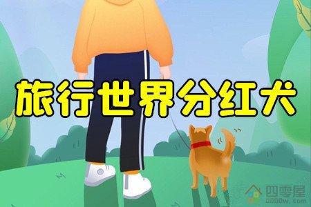 旅行世界有人合成分红犬吗?有,只是太难合成了!